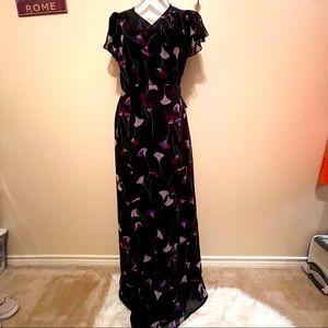 NWT New York & Company Eva Mendes Wrap Maxi Dress
